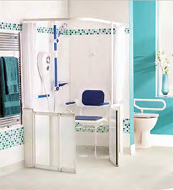 Half Height - White - Sliding Shower Doors and Screens & AKW - Half Height Shower Doors u0026 Shower Screens