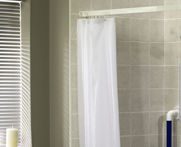 AKW Shower Curtains And Rails
