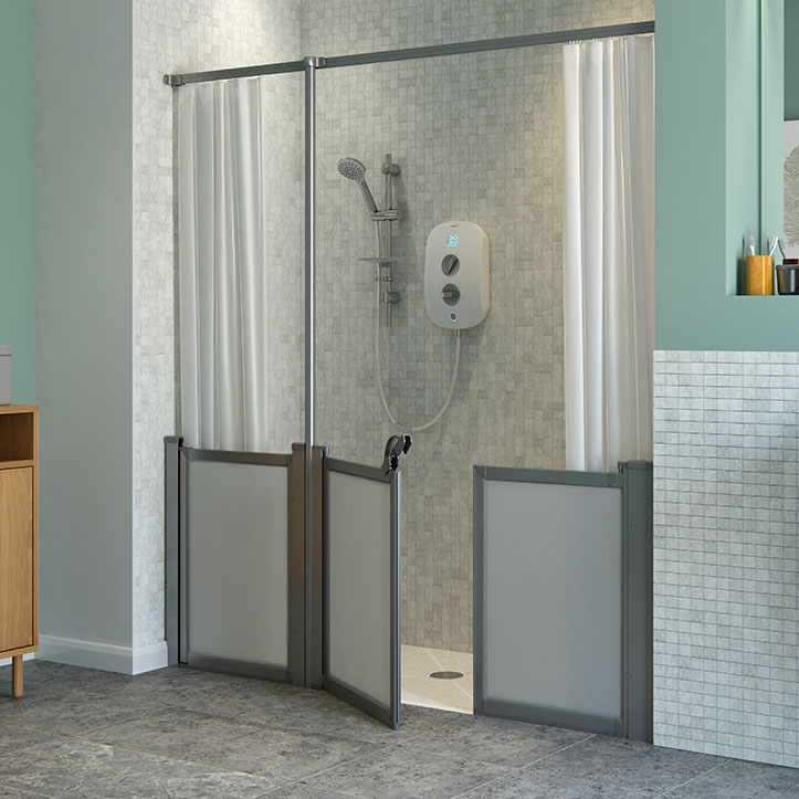 Half Height - Silverdale - Standard Shower Doors and Screens