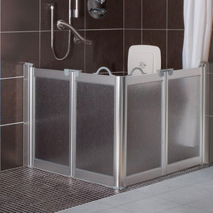 Half Height Shower Screens For Easy Access From Contour