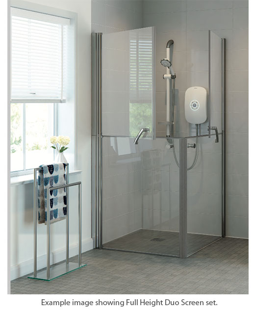 Larenco Duo Full Height Shower Doors