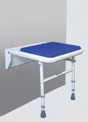Padded Shower Seat - Blue
