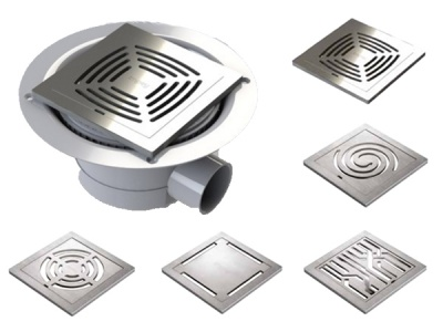 Wet Floor Gully & Premium Stainless Steel Grate