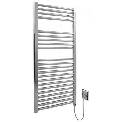LST Towel Warmer - Chrome Straight