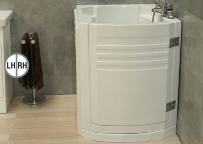 Contour Deep Soaker Walk-in Bath - Hatchmere