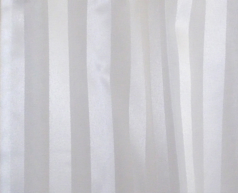 Satin Striped Weighted Shower Curtains