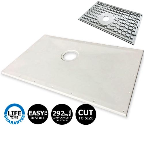 Contour Showerdec Wet Room Shower Tray Floor Former