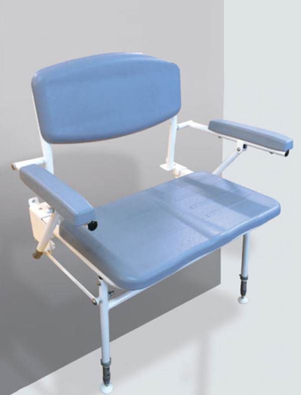 Contour Bariatric Shower Seat with Back and Arms