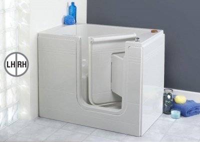 Contour Deep Soaker Walk-in Bath - Oakmere
