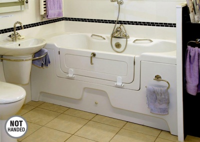 Contour Adjustable Height Assistive Bath - Rostherne