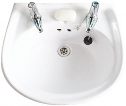 2 Tap Hole Washbasin