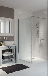 AKW Level Best Wall Hung Shower Screens