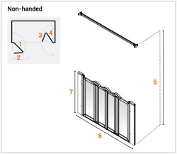 AKW Made to Measure - Half Height Screens - Option N