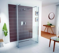 Impey Aqua-Screen Pure - 8mm Glass Shower Screen