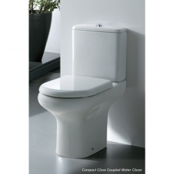 Compact Close Couple Hi Pan - Cistern - Soft Close