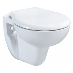 Livenza Wall Hung Pan & Seat - Standard Height