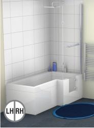 Contour  L  Shaped Walk in Bath   MarburyDisabled Bathing Solutions. Bathing Solutions For The Disabled. Home Design Ideas