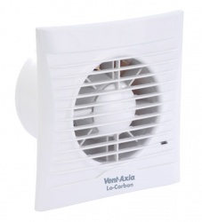 Vent Axia Silhouette Extractor Fan with Timer