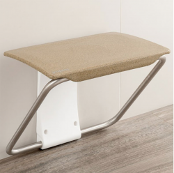 Impey Slimfold Shower Bench - Sandstone