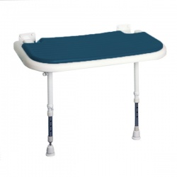 AKW Bariatric Larger Extra Wide Shower Seat - Blue