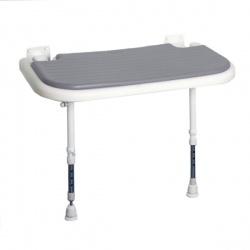 AKW Bariatric Larger Extra Wide Shower Seat - Grey