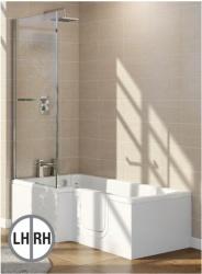 Contour  L  Shaped Walk in Bath   ManleyDisabled Bathing Solutions. Bathing Solutions For The Disabled. Home Design Ideas