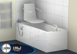 Contour Assistive Bath with Seat Lift - Shakerley