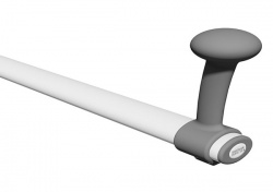 ROPOX Toilet Support Arm Sitting/Standing Attachment