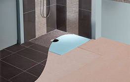 Do you need to cover the whole wet room floor with a floor former base.