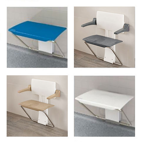 Wall Hung Fold Up Shower Benches & Seats