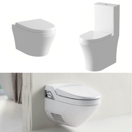 Toilet Pans & Cisterns