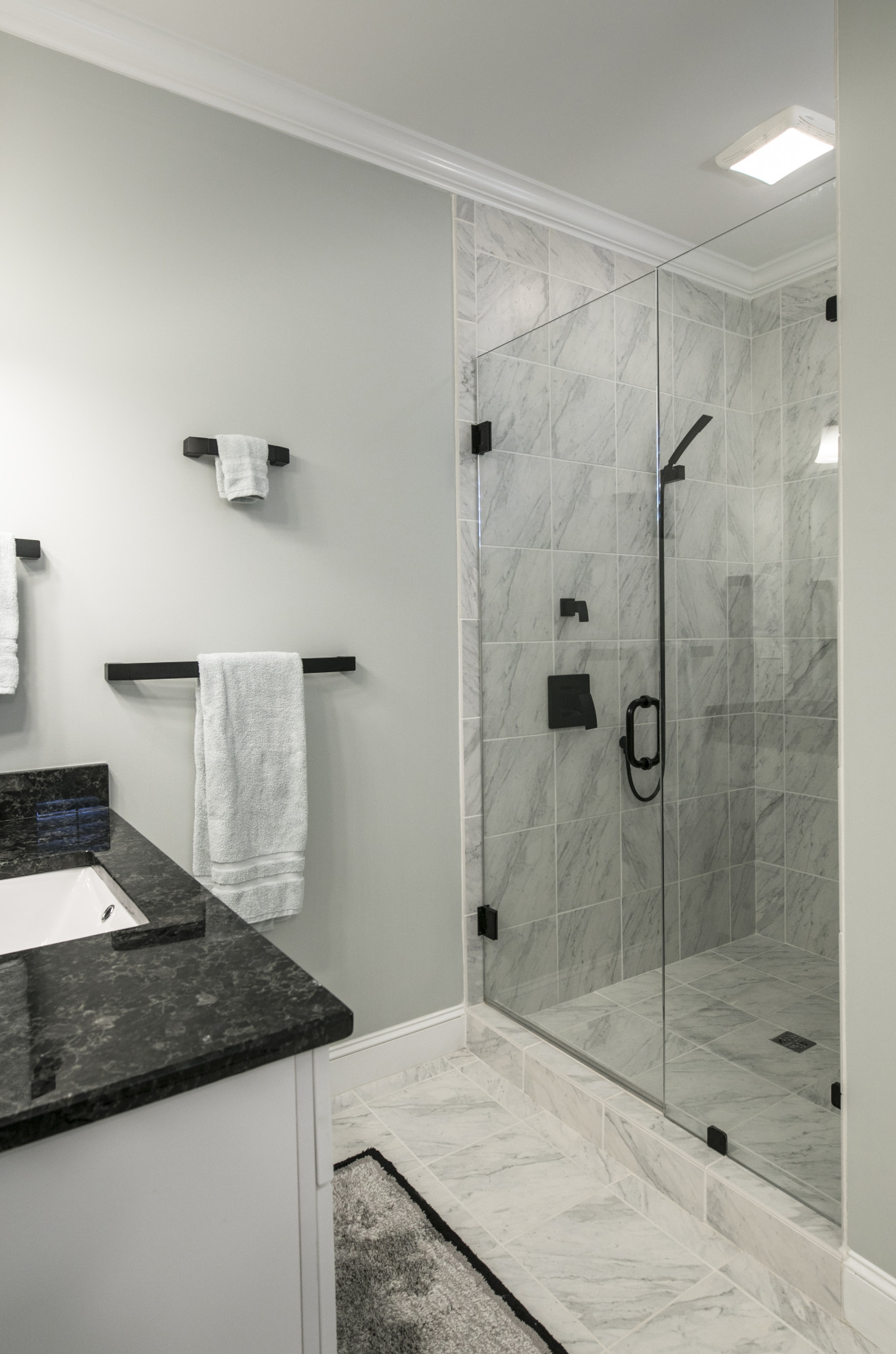 Upgrading your bathroom to a walk in shower room for ease of use for disabled or elderly people