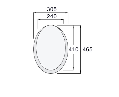 Contour Toilet Plinth 75mm