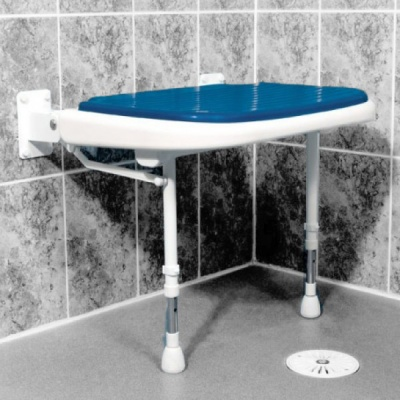 AKW Bariatric Extra Wide Shower Seat - Blue