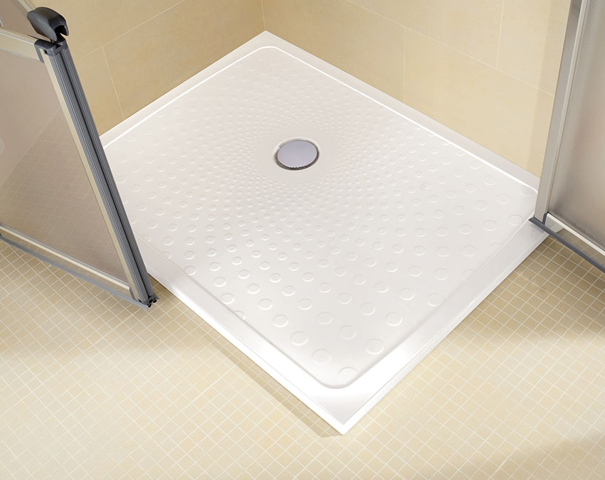 Impey Slimline Shower tray, great slip resistance shower tray for disabled use