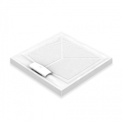 AKW Sulby Shower Tray with Gravity Waste