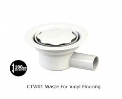 Contour CTW01 Gravity Waste Outlet - Package Deal
