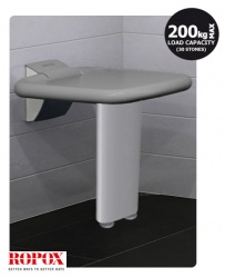 ROPOX Shower Seat with Single Leg