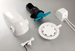 Whale Shower Pump Switch Connect Wet floor Kit BP1578 - Vinyl Floor