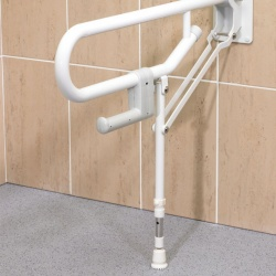 1800 Series - Fold Up Rails with Adjustable Support Leg 01830