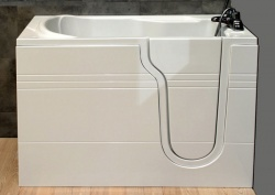Contour Deep Soaker Walk-in Bath - Nunsmere