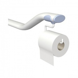 ROPOX Toilet Support Arm Toilet Roll Holder