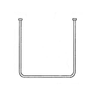 AKW 'U' Shaped Curtain Rails